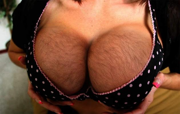 image Mujer fea calzon a rayas